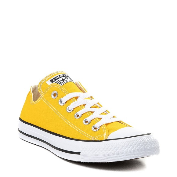 Converse Shoes | Yellow Low | Poshmark